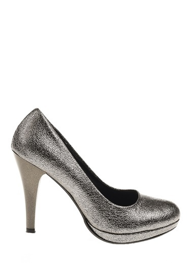 Derigo Topuklu Ayakkabı Gri